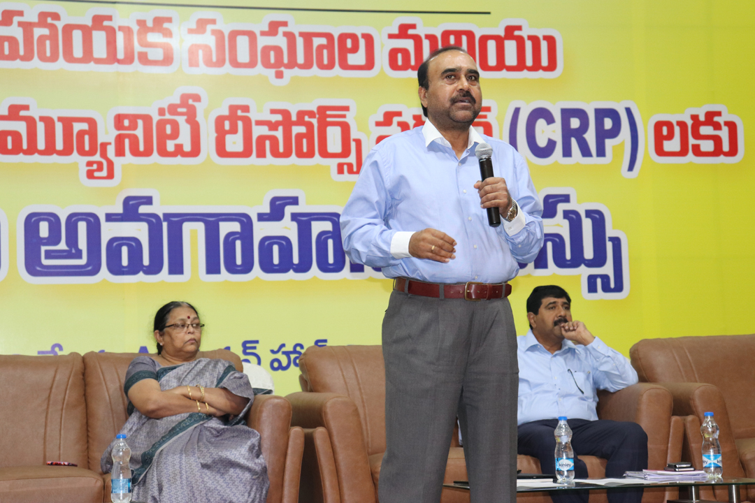 State level Training session to CRPs on Strengthening of SHGs