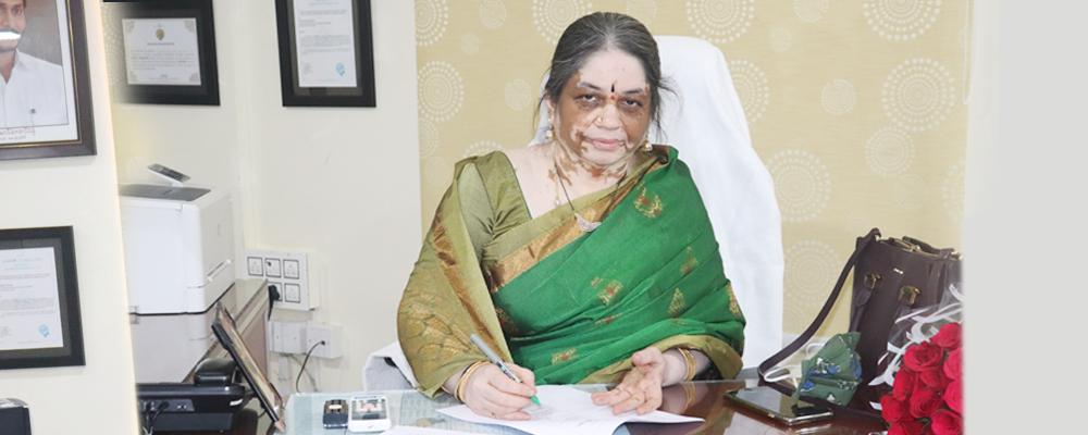 Smt. V. Vijaya Lakshmi, took Charge as Mission Director MEPMA